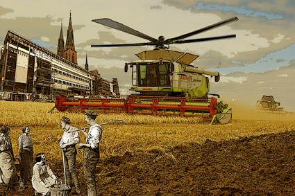 1900-talets jordbruksekonomi och politik